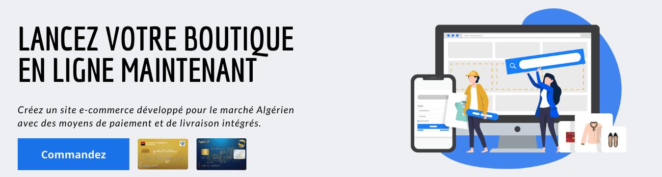 lancez votre boutique en ligne en algerie